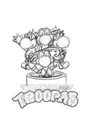 TMKT Troopas Sketch by Darkagnt210