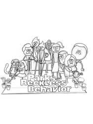 Parks and Reckless Behavior Sketch by Darkagnt210