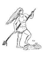 Elf huntress WIP by niner9