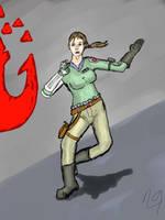 Jace Forn - Red Ace Leader by niner9