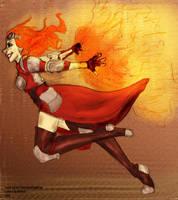 Chandra Ablaze CO-OP by niner9