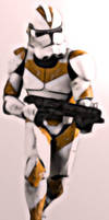Clone Trooper PhotoManip by niner9