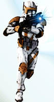 Commander Cody Photo-Manip by niner9