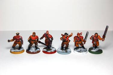94th Valhalla - Sergeants by niner9