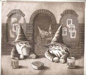 y los gnomos parlaban en ... by Elgreh