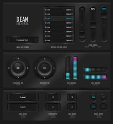 GUIFX Elements Pack 'Dean'. by PureAV