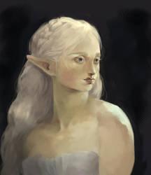 Zelda Portrait by elleCrombie