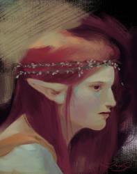 Malon Portrait II by elleCrombie