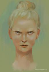 Face Study by elleCrombie