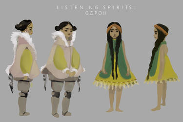 Listening Spirits: Gopoh outfits by elleCrombie
