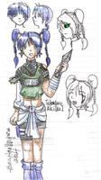 Naruto OC- Takadono Akiko by crim-chan