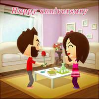Happy Anniversary, babe. by Jetvoidfox96