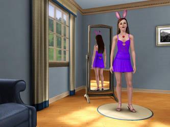 Bunny Girl Emily Sky by Jetvoidfox96