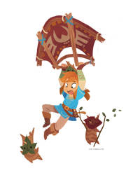 Forest Children in Flight by nna