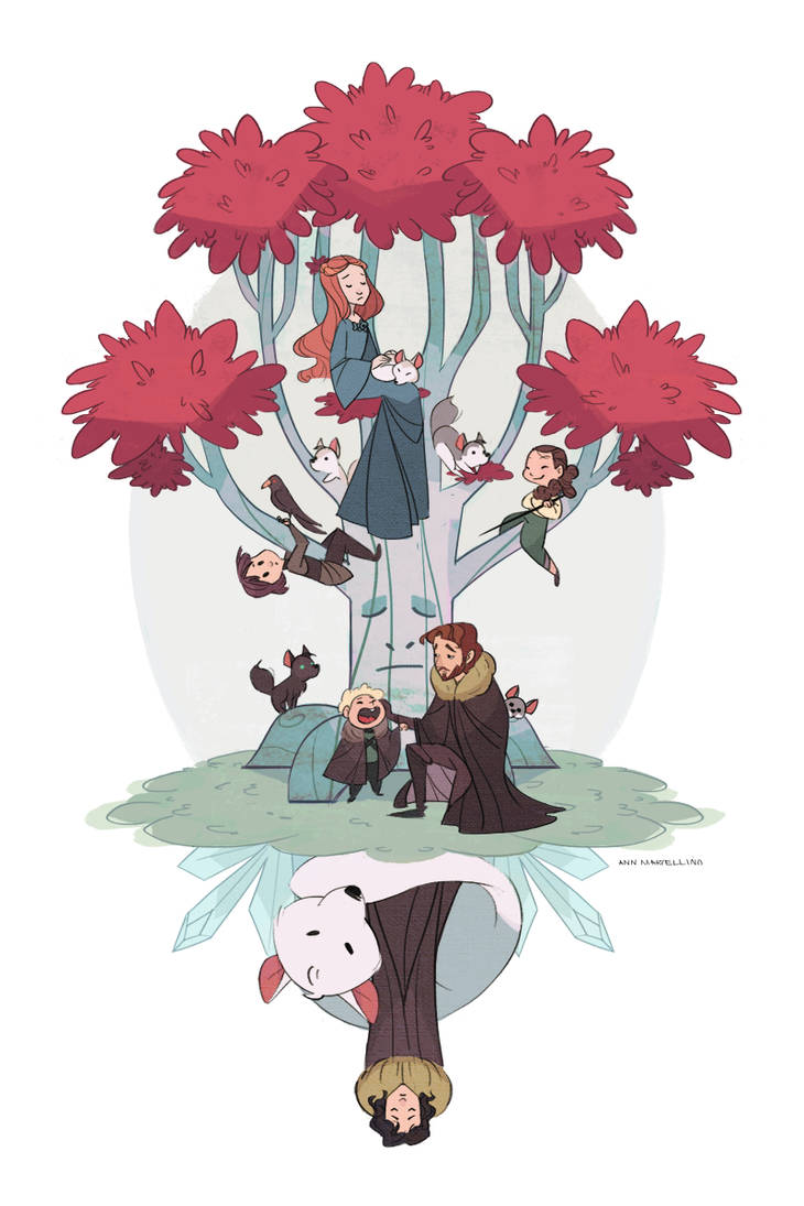 Under the Stark tree by nna