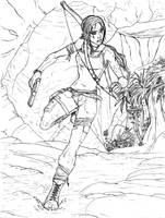 Lara Croft: Rush by Amrock