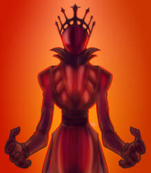 Crimson King by Amrock