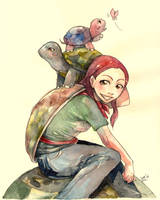 turtles :3 by lorna-ka