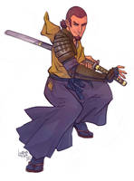 SWR Space samurai by lorna-ka