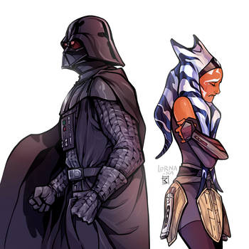 I would never let anyone hurt you, Ahsoka.. never. by lorna-ka