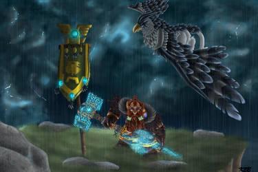 Burlen The Storm Bringer by NeonaItsumi