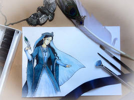 Rowena Ravenclaw. Fair wisdom by Aquamirral