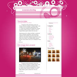 Pink blog by Moult