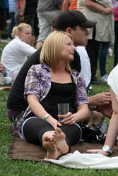 Festival Candid by foot-portrait