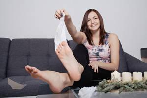 Katharina - Homeshooting 036 by foot-portrait
