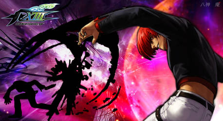 Iori Yagami KoF XIII by Le-Arc-7thHeaven