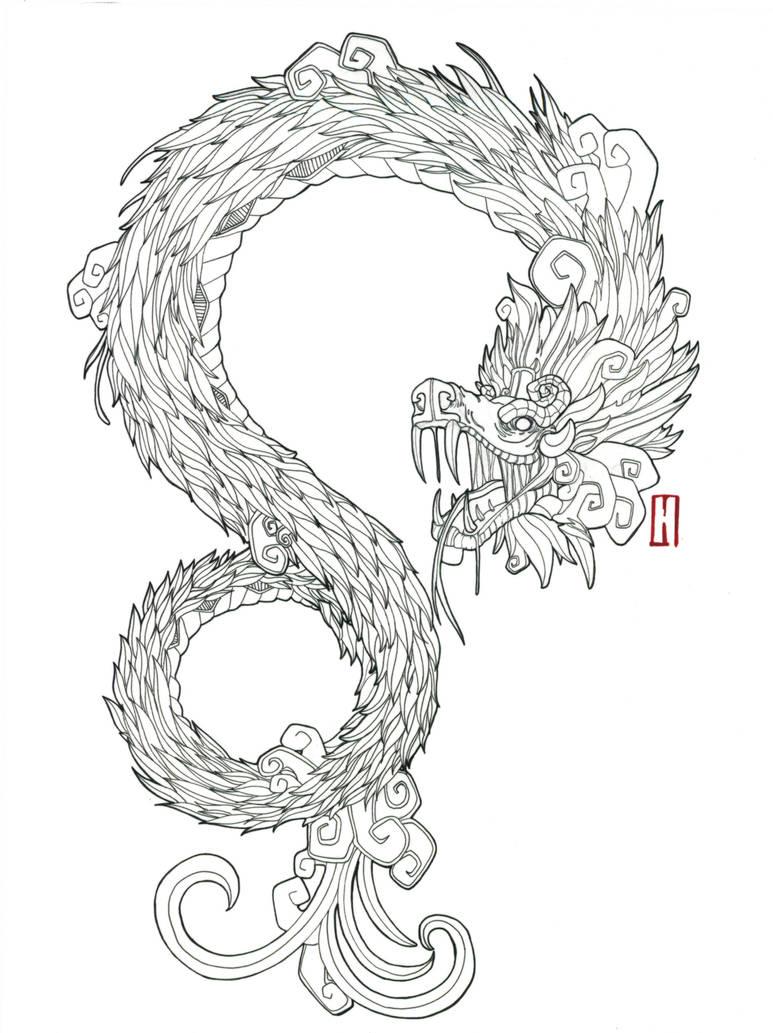 Quetzalcoatl Tattoo By Agarwen On Deviantart