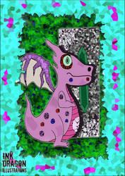 Gem dragon by TheSleepyGhost