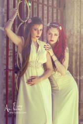 Soraya and Mary by AnaIsaebel