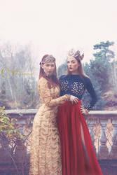 Ieva and Agnessa by AnaIsaebel