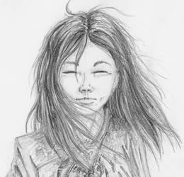 Sorceress, head by wflu