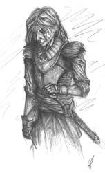Portrait 'Rogue' by wflu