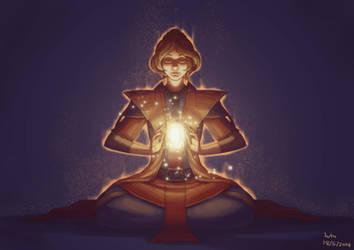 SWTOR: Jedi Meditation by chankljp
