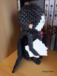 3D origami Phantom of the Opera character: Erik #3 by Iveyn-Adler