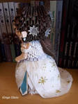 3D origami Phantom of the Opera: Christine #4 by Iveyn-Adler