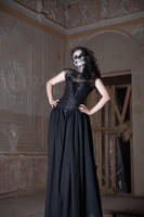 Lady Death 7 - female stock by Dea-Vesta