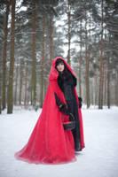 Red Riding Hood - female stock by Dea-Vesta