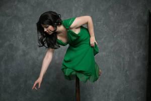 Green Sonata 14 - female stock by Dea-Vesta