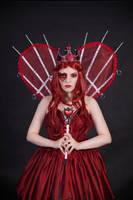 Red Queen 2 - female stock by Dea-Vesta