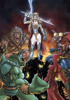 She-ra wars with Horde by shawnmp