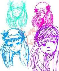 Bochi Sketchs by KaneKale