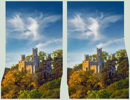 Castle Of Eckberg - Stereo 3D by zour