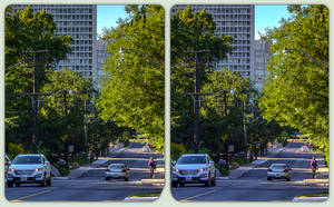 Spadina Road / Ardwold Gate 3-D / CrossView / HDR by zour