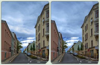 Reichenbach, Albertistrasse 3-D / CrossView / HDRi by zour
