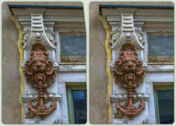 Fish trading architecture 3-D / CrossView / Stereo by zour