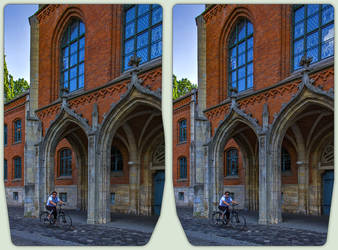Gymnasium Martineum Halberstadt / CrossView 3-D by zour